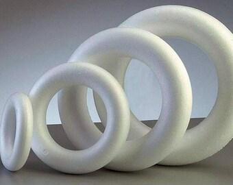 Ring type 3d styrofoam centerpiece stick candy Christmas day