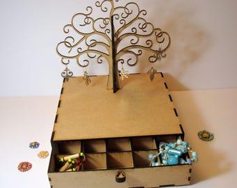 Box jewelry 02143 arrangement for your finest jewelry