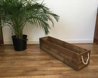 Recycled Reclaimed Wooden Planter