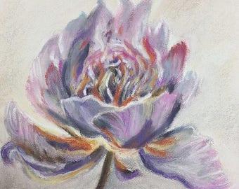 Vibrant Peony Flower