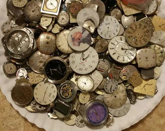 Assorted Watch Faces. 50 Count.