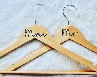 Duo de cintres de mariage