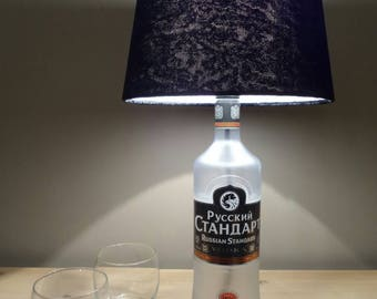 Russian standard vodka bottle lamp