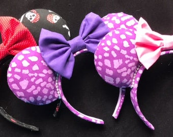 Mouse Ears- Pirates and Animal Print