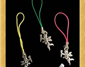 Hand Made Charms - Silver Cupid