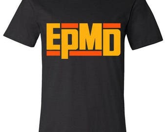 Old School Hip Hop Rap Shirt of EPMD Small to XXL