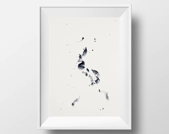 Watercolour Abstract Print 11