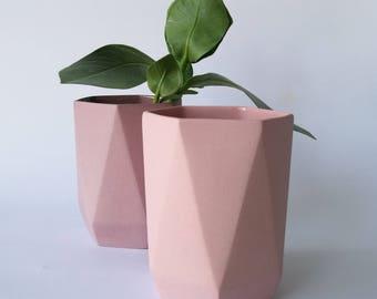 Geometric Tulip Vase