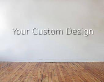 Custom Metal Sign, Custom Gift, Metal Decor, Home Decor, Outdoor Decor,