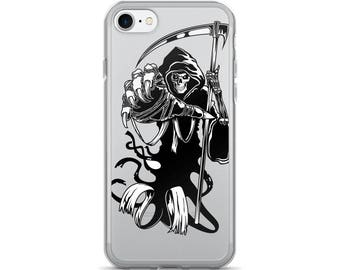 Grim Reaper Of Death cary Halloween Reaper iPhone 7/7 Plus Case