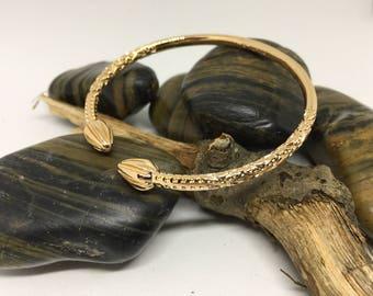 Italian Rose Gold Plated Bracelet