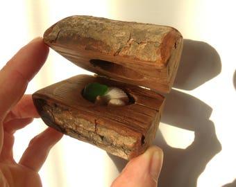 Wedding Ring Box, Wood ring box