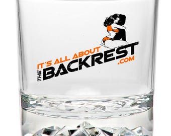 Backrest Whiskey Glass, Free Shipping