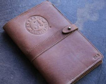 The Officially Licensed Crimson Tide Inventor Personalized Fine Leather Journal