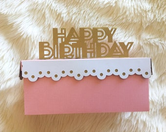 Happy Birthday Favor Box