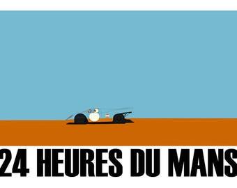 Porsche 917 LeMans Poster