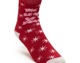 Tis the Season Christmas Socks