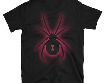 Black Widow Spider Shirt