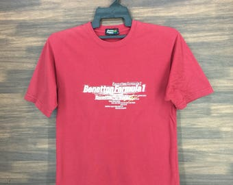 Vintage Benetton Formula 1 Racing Team T-Shirt