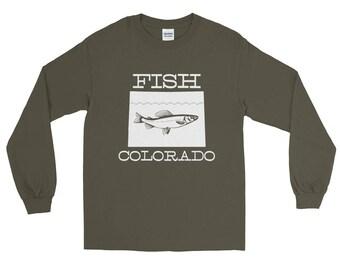 Fish Colorado Fishing T-shirt   Fishing Apparel