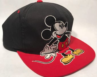 Mickey Mouse Vintage Style SnapBack Cap 2361