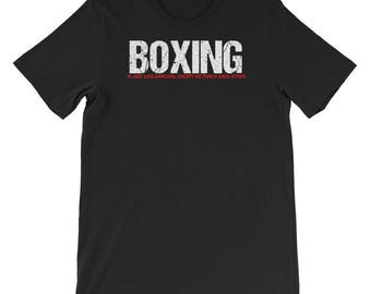 Boxing T-shirt -  Boxing Tee - Gift For Boxing - Boxing Gift Idea - boxing awesome tee shirts for men - boxing clothing - sports clothing -