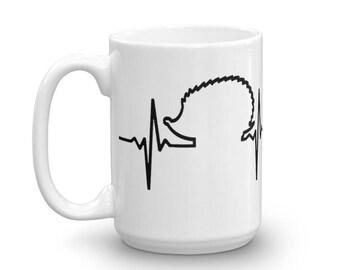 Hedgehog Heartbeat Mug