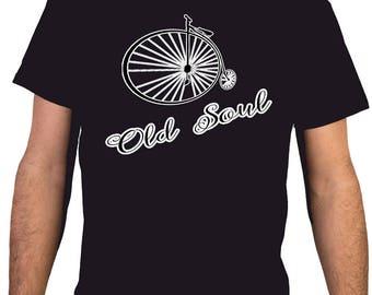 Old Soul / Bike, BMX 2 - Man T-shirt