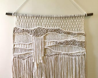 Large Macrame Wall Hanging / Macrame / Wall Hanging / Woven / Wall Art / Home Decor / Modern Macrame / Fiber Art / Tapestry