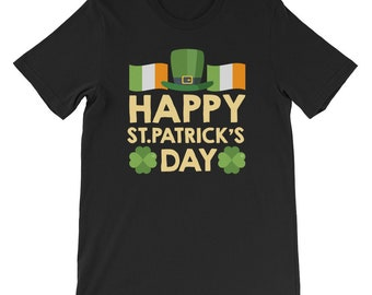 St Patricks Day Shirt Men Women Kids Irish Shamrock Paddys Day Gift