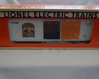 Lionel Trains 6-12980 Mickey's Wheat Hi-Cube Box Car