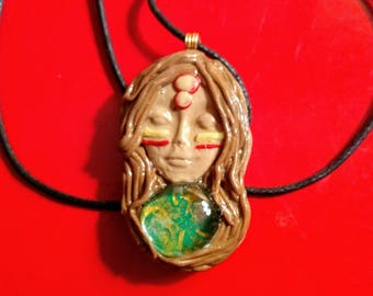 Warrior Goddess Pendant