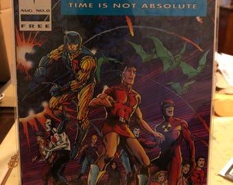 1992 Valiant Comics Unity #0 Blue Near Mint