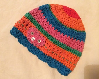 Child hat in color