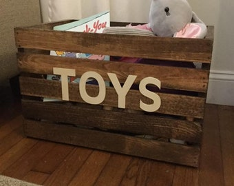 Small toy or book crate 15x11x11