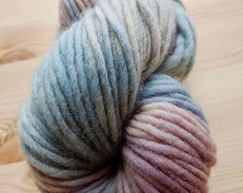 Hand Dyed 100% Wool Bulky Yarn