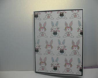 Easter Bunny Blank Note Cards