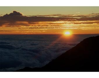 Sunrise at Haleakala National Park Maui Hawaii Fine Art Photography Print
