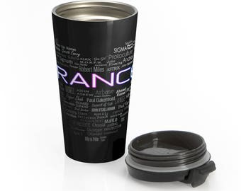 Love Trance - Stainless Steel Travel Mug