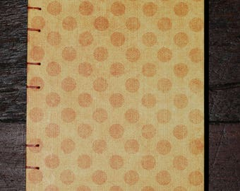 Orange Spots Blank Journal