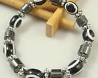 Haematite Stretch Bracelet