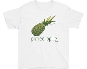 Pineapple T-Shirt - Kids - Foodie - Chef - Organic