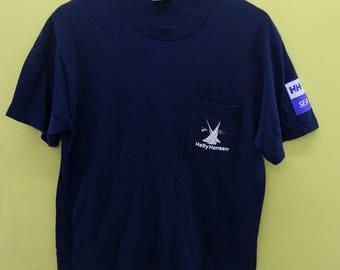 Vintage Helly Hansen T Shirt Sea Gear Outdoor Sport Wear Top Tee Size M