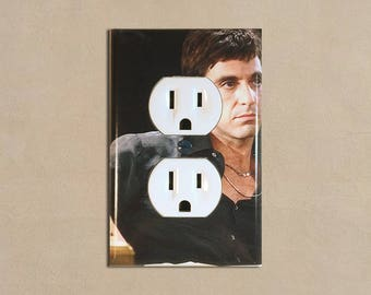 Scarface 1 - Light Switch Plate Covers Home Decor Outlet
