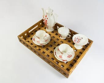 Wooden Handmade Serving Tray