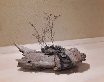 """Wood meets Stone """"The small garden"""""""