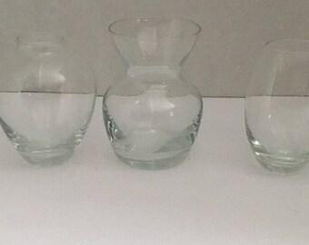 Dansk mini bud vases