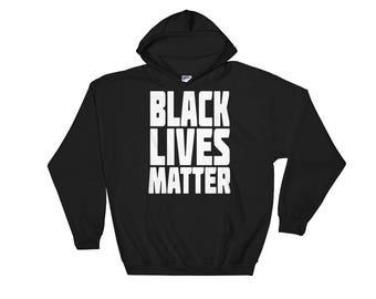 Black Lives Matter Hooded Sweatshirt