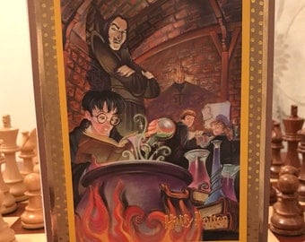 Harry Potter Handmade card