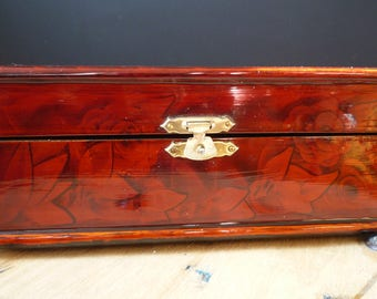 Former Chinese vintage - Chinese vintage jewelry box jewelry box